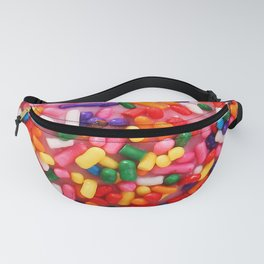 Funny Pattern With Juicy And Tasty Donut Fanny Pack
