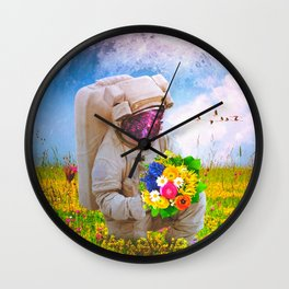 The Solitary Collector Wall Clock