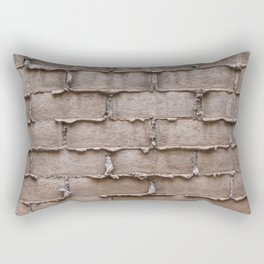 Brick Wall No. 1 Rectangular Pillow