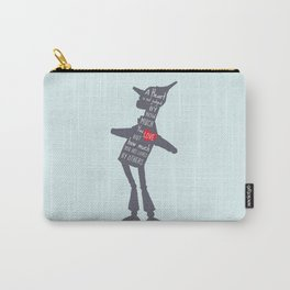 Heart is Judged by how much you are loved by others Carry-All Pouch