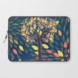 Tree at Night Laptop Sleeve