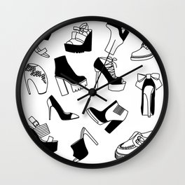 Shoe Cravings Wall Clock