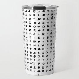Zodiac killer Travel Mug