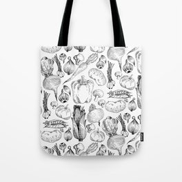 market fresh vegetables Tote Bag