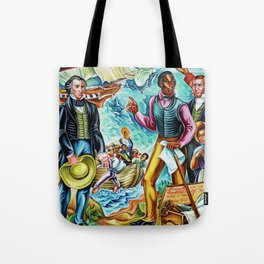 "African American Classical Masterpiece ""The Repatriation of the Freed Captives"" by Hale Woodruff Tote Bag"