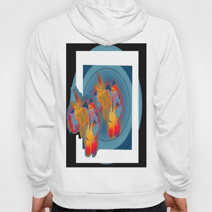 Flowers in the window Hoody