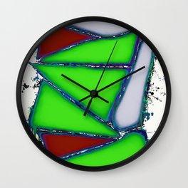 Green sail Wall Clock