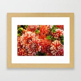 Pike Place Flower Markets 1 Framed Art Print