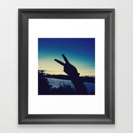 forever&always Framed Art Print