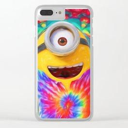 Minion Clear iPhone Case