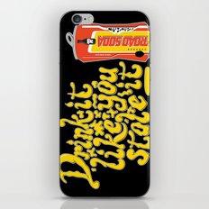 Road Soda iPhone & iPod Skin