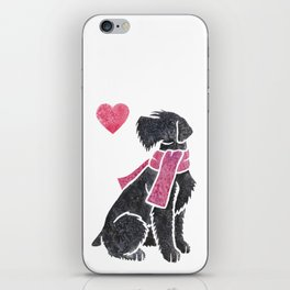 Watercolour Giant Schnauzer iPhone Skin