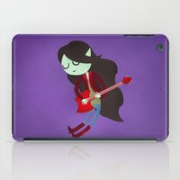 marceline iPad Cases featuring Marceline the Vampire Queen by Vera van Groos