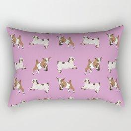 Baesic Prancing Goats Rectangular Pillow