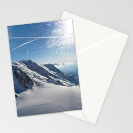 Mont Blanc . 6 Stationery Cards