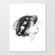 Cosmic Matter Canvas Print