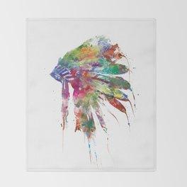 Headdress Throw Blanket