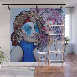Jem and Dazzler - Kylie and Dannii Minogue Wall Mural