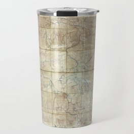 Map of Yellowstone National Park (1886) Travel Mug