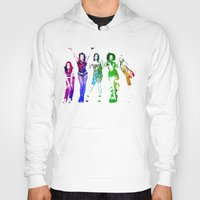 spice Hoodies featuring Spice Girls. by Greg21