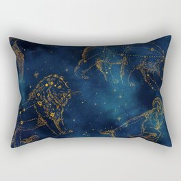 Animal Constellations Rectangular Pillow