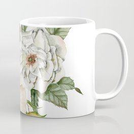 Wildflower Bouquet on White Coffee Mug