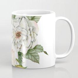 Wildflower Bouquet on White Coffee Mug