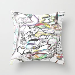 In Two Minds 1  Throw Pillow