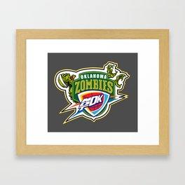 Zombie Sonics Framed Art Print