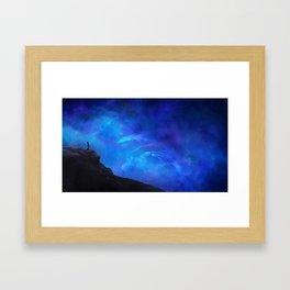 Dust Framed Art Print