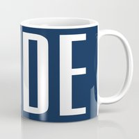 the dude Mugs featuring Dude by The He Say She Say Collection