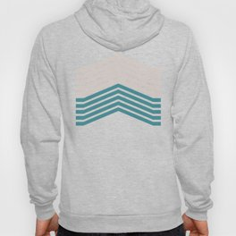 FLYING (abstract geometric pattern) Hoody