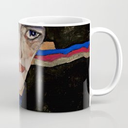 "Egon Schiele ""Mourning Woman"" Coffee Mug"