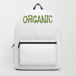 Organic Healthy Food Organic Farming Real Food Farm to Table Backpack