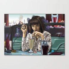 5 Dollar Milkshake Canvas Print