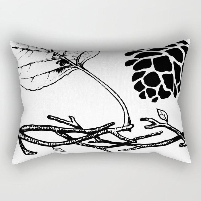 Woodlands Set Rectangular Pillow