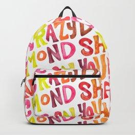 Shine On You Crazy Diamond – Rainbow Palette Backpack