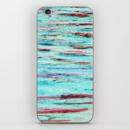 Color gradient and texture 33 iPhone Skin