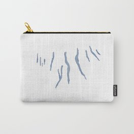 Watercolor Fingerlakes Carry-All Pouch