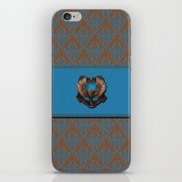 ravenclaw iPhone & iPod Skins featuring Ravenclaw House by Sarah and Bree