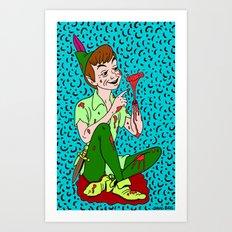 HOOK'S REVENGE. Art Print