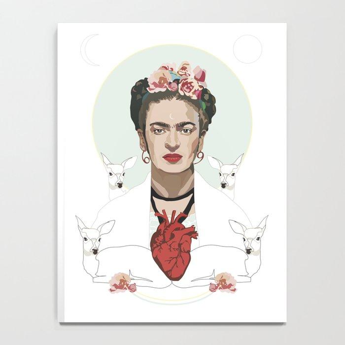 Frida Kahlo (Light) Notebook