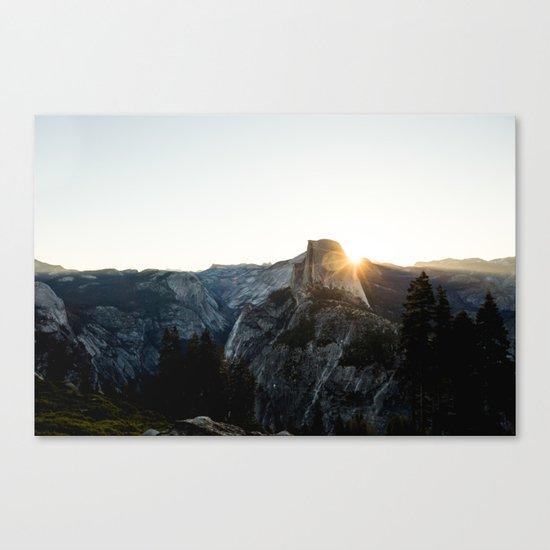 Beautiful Yosemite Canvas Print