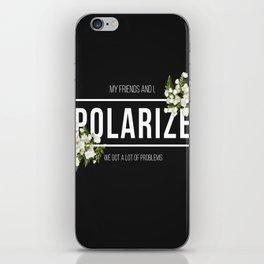 Polarize iPhone Skin