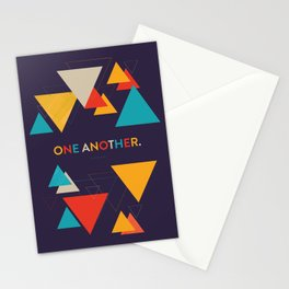 One Another Scripture Poster (Romans 15) Stationery Cards