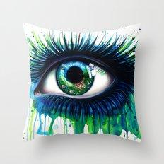 -The peacock- Throw Pillow