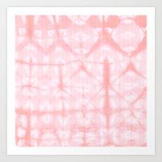 Tie Dye 3 Pink Art Print