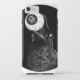 How the Blind Crow Sees iPhone Case