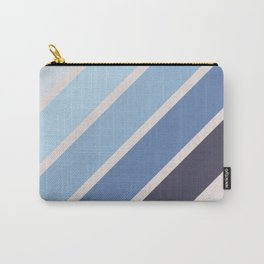 Blue Color Drift Carry-All Pouch