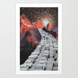 Far Away Art Print